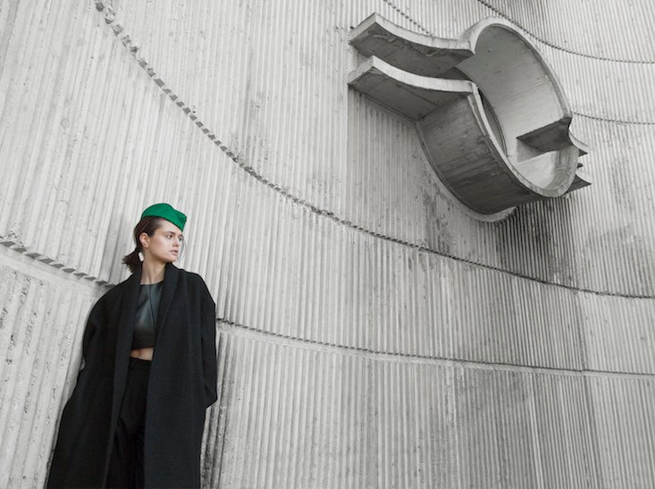 Built to last: discover the Macedonian fashion project taking inspiration from brutalism
