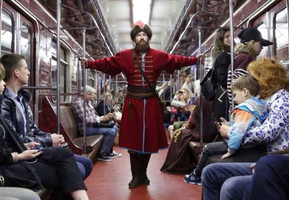 Travel through time with a ride on the Moscow metro