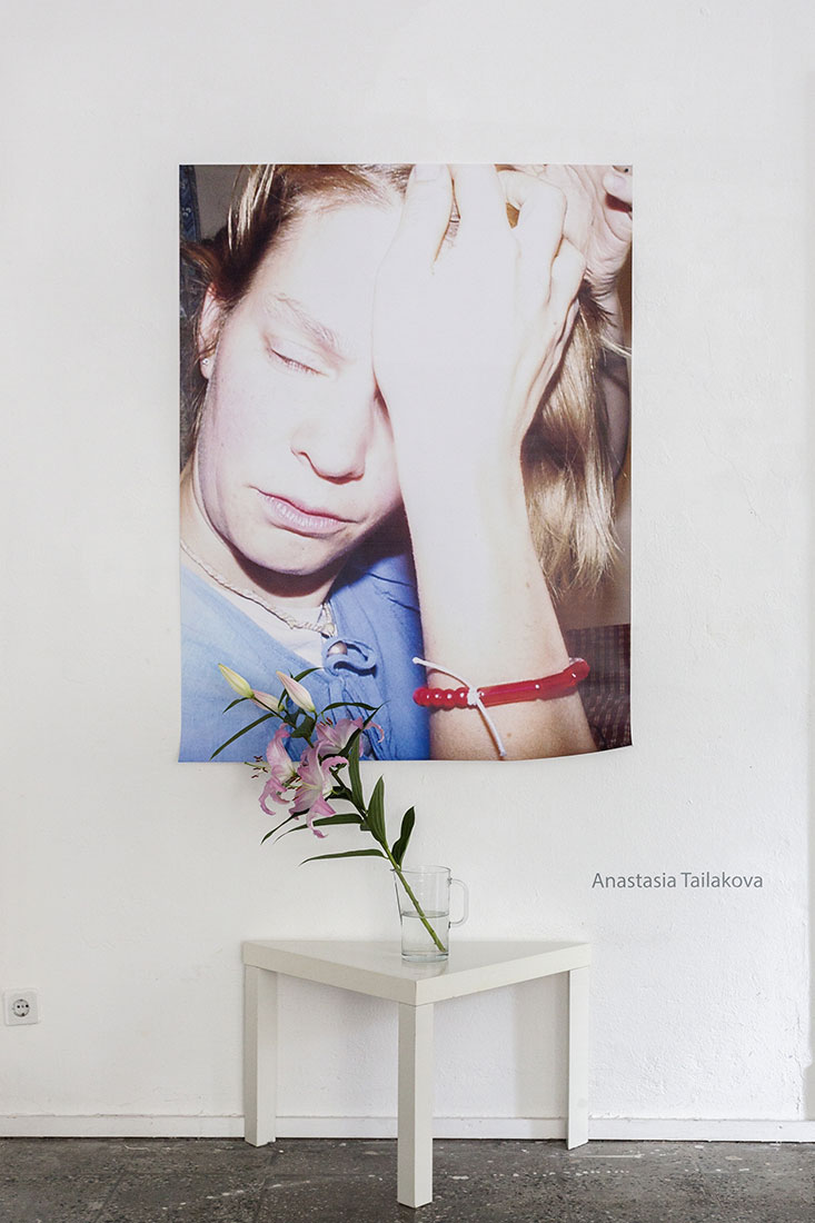 Installation view for Anastasia Tailakova at Aff Gallery