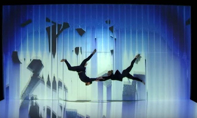Check out the Russian multimedia artists who caused a stir on America's Got Talent