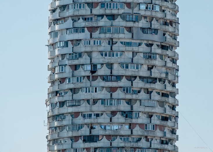 Socialist Modernism photography series seeks to save Eastern Bloc architecture