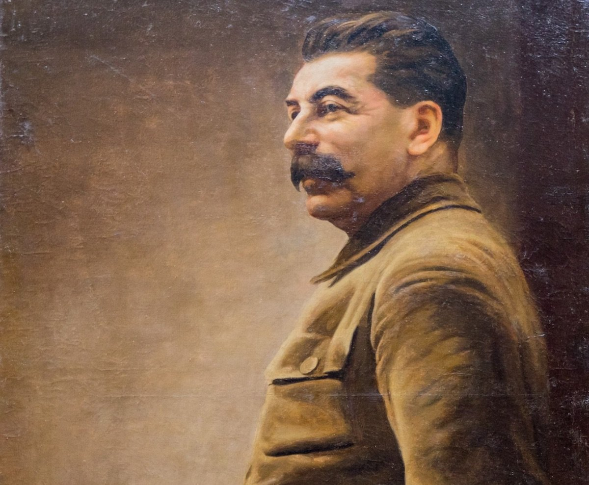 Mysterious Stalin portrait has Moscow museum stumped