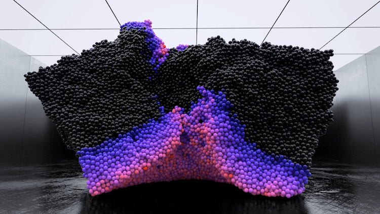 Volumes: discover the mesmerising computer generated art of Maxim Zhestkov