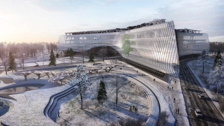 Zaha Hadid Architects win Moscow technopark competition