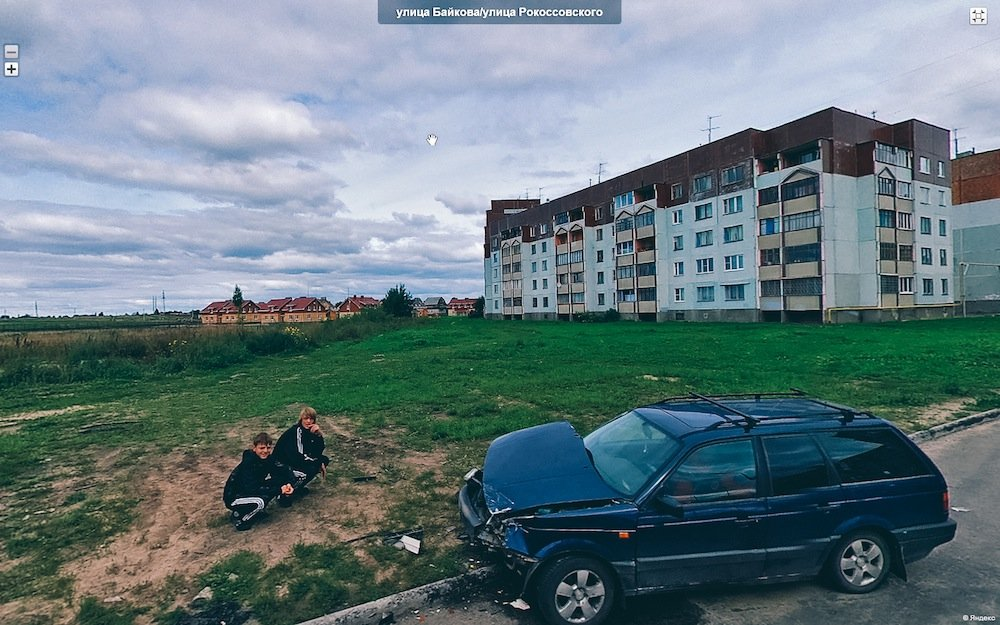 Street view: a virtual tour across Russia by remote camera