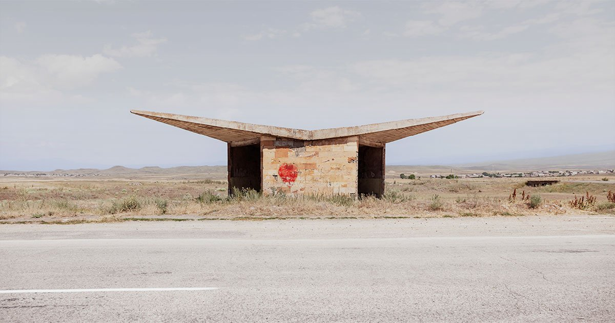 Gimme shelter: Jonathan Meades hails the brutal charm of the Soviet bus stop