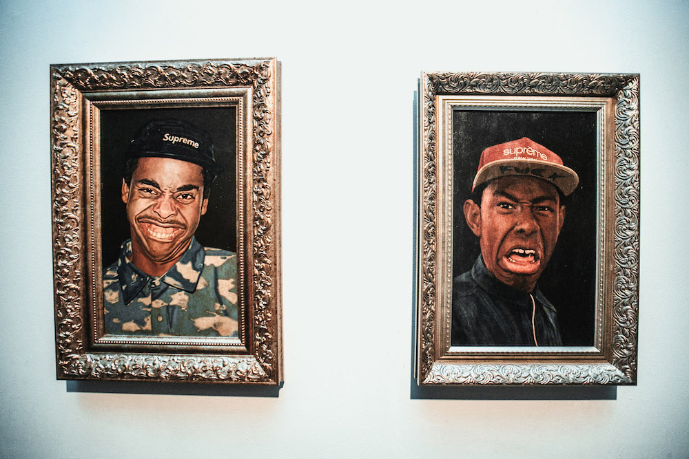 Modern icons: from Notorious B.I.G. to Earl Sweatshirt, a Russian painter pays homage to hip-hop