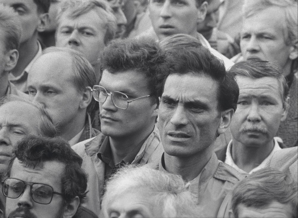Faces in a crowd: a new film revisits the failed coup that was the final act of the Soviet Union
