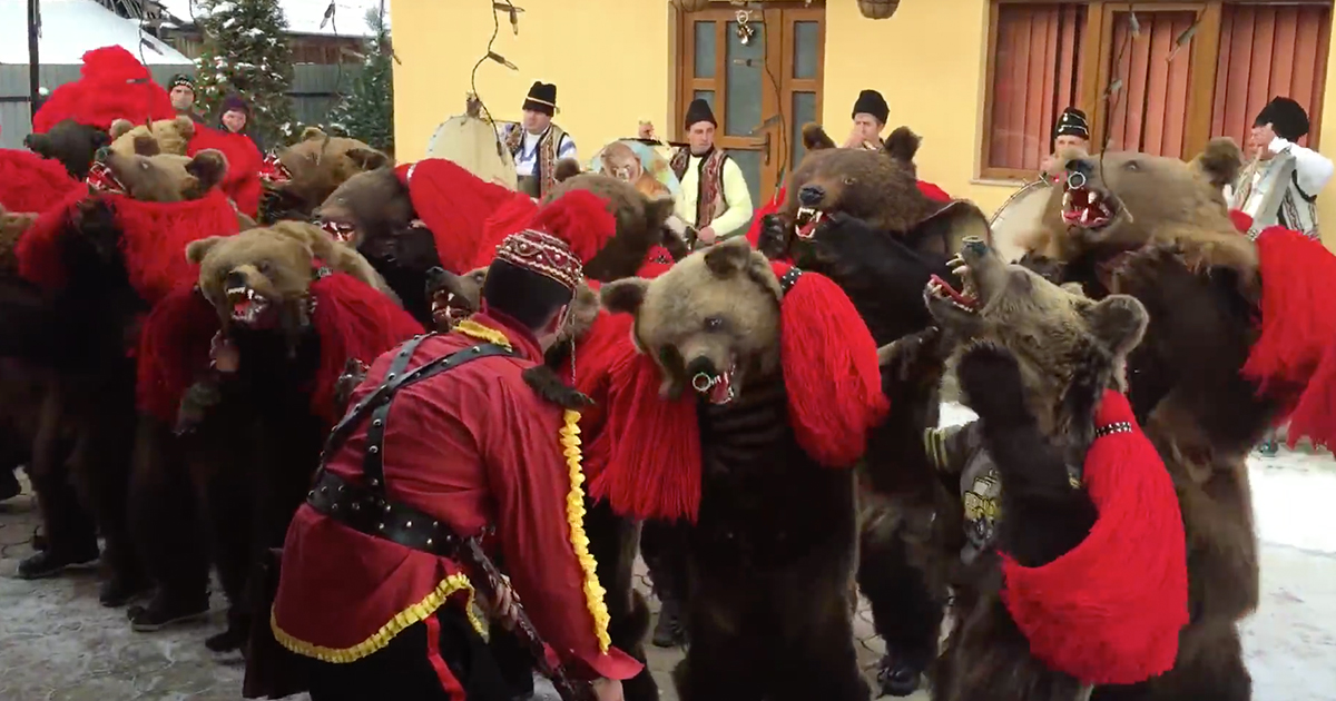 Dancing with bears: and 11 other suprising but great festive traditions from the new east