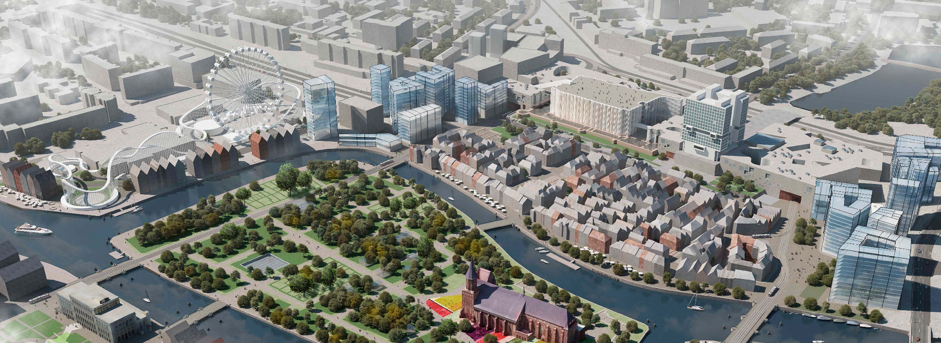 Remaking history: how Kaliningrad's new centre will look both forward and back