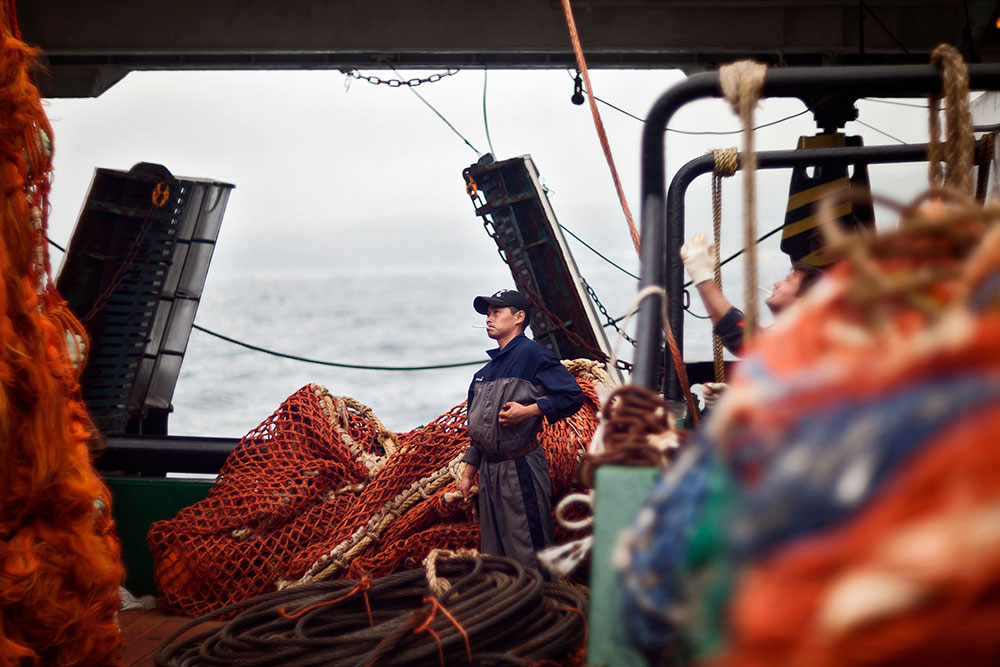 Sea change: meet the man who quit his day job for six months on a fishing boat in the Far East
