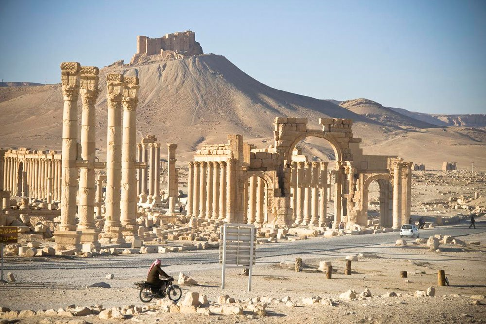 Arch of history: what the ruins of Palmyra reveal about conflicting visions of the East and the West