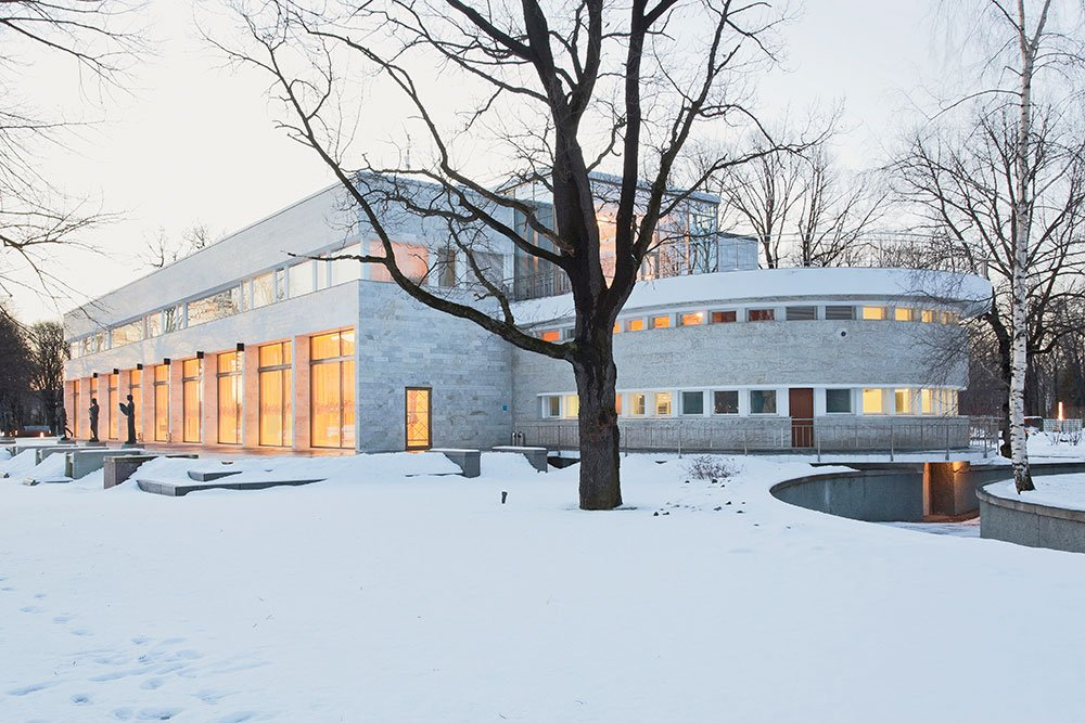 Elite escape: welcome to the K-2 dacha, a modernist gem on a St Petersburg island