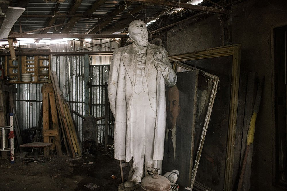 Looking for Lenin: hunting down banned Soviet statues in Ukraine