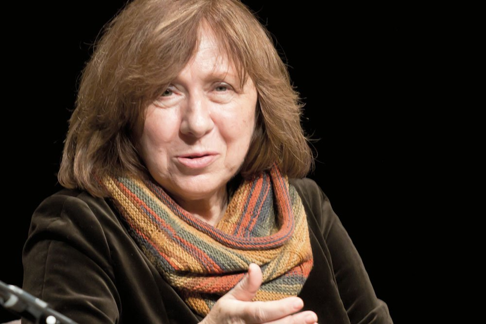 'Men are everywhere': Svetlana Alexievich to launch publishing house for women writers