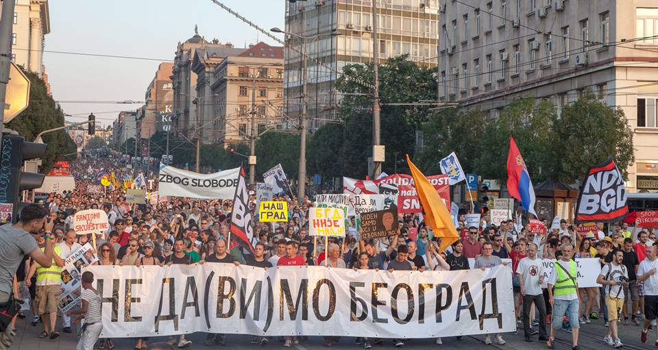 Battle for Belgrade: why activists are pushing back against Serbia's loss of cultural space