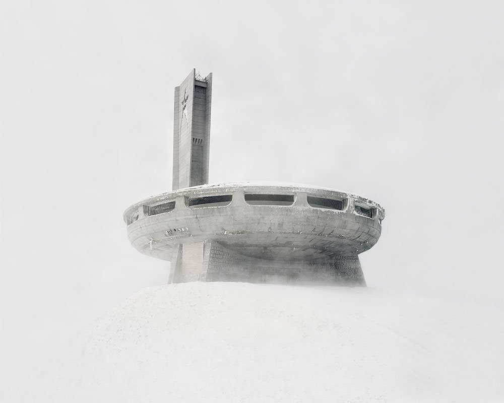 Discover the futuristic urban art hidden under a frozen lake in Vladivostok