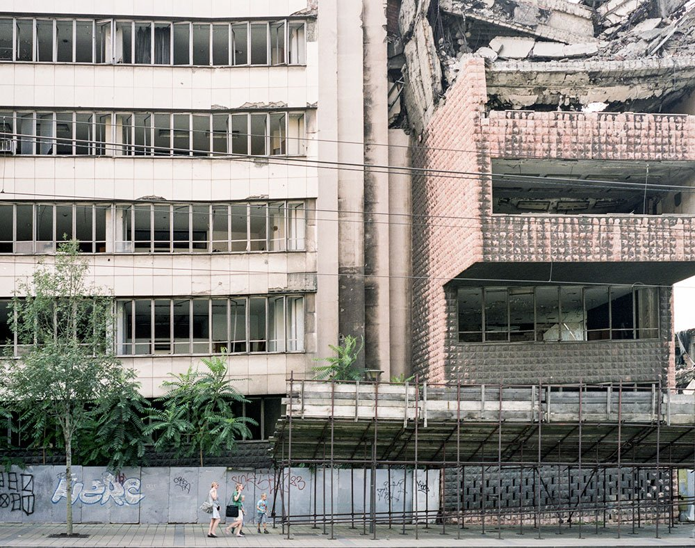 Block party: meet the people who live among the brutalist edifices of New Belgrade