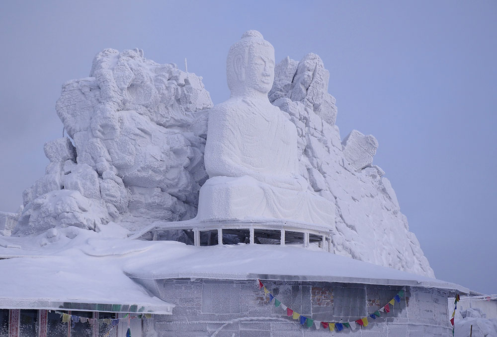 Bulldozing Buddha: a final glimpse of a spiritual centre in the Urals