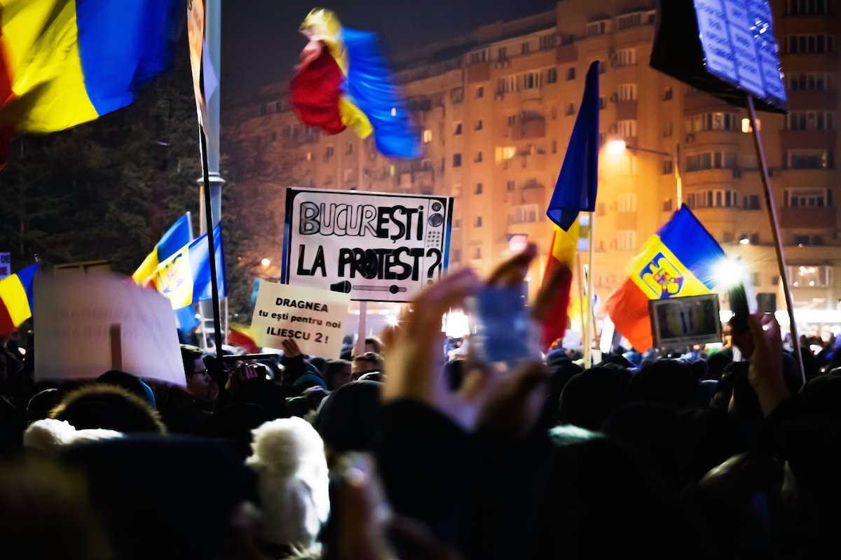 Bucharest fights back: Romania's protests have died down, but these citizens are still on the march