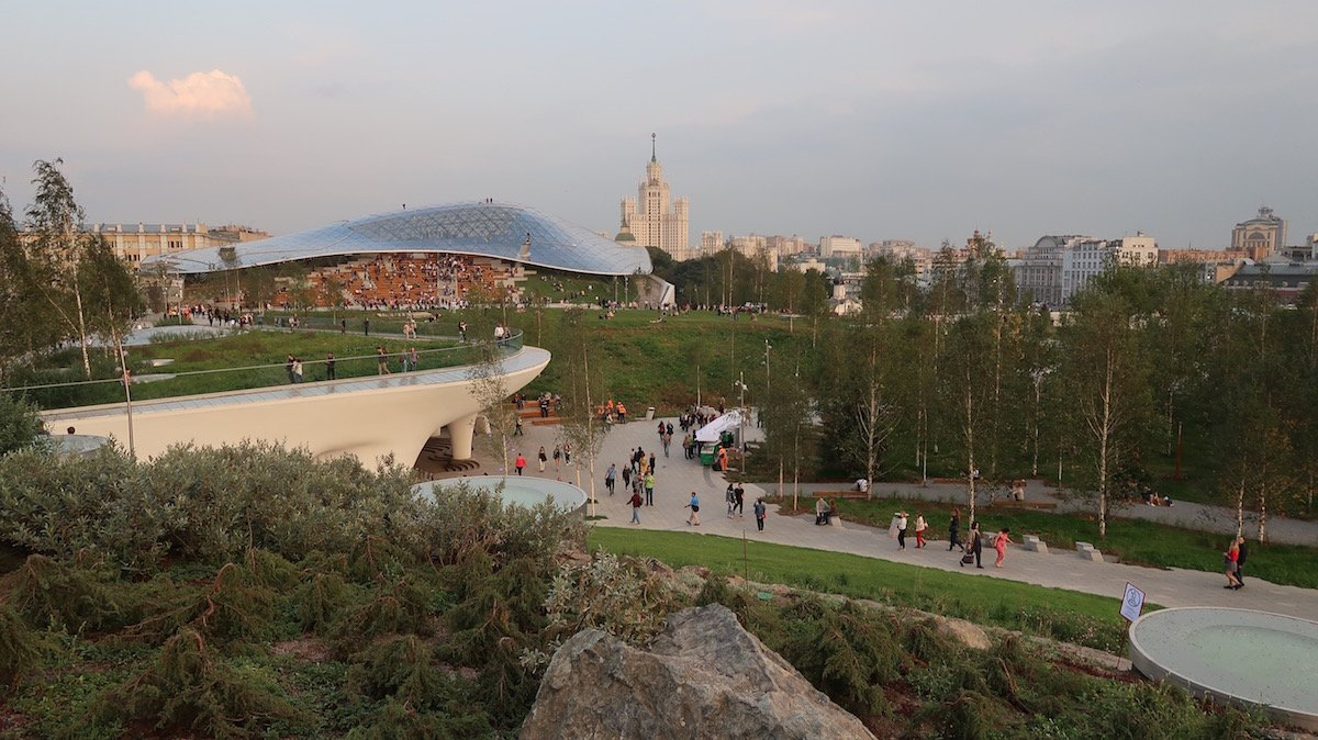 Zaryadye Park: a report from the opening of Moscow's new urban wilderness