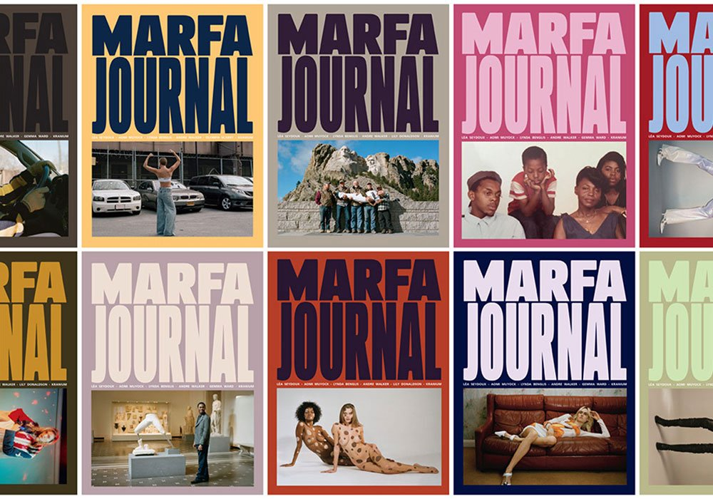 Marfa Journal: the arts magazine by a Yekaterinburg native inspired by a Texan town