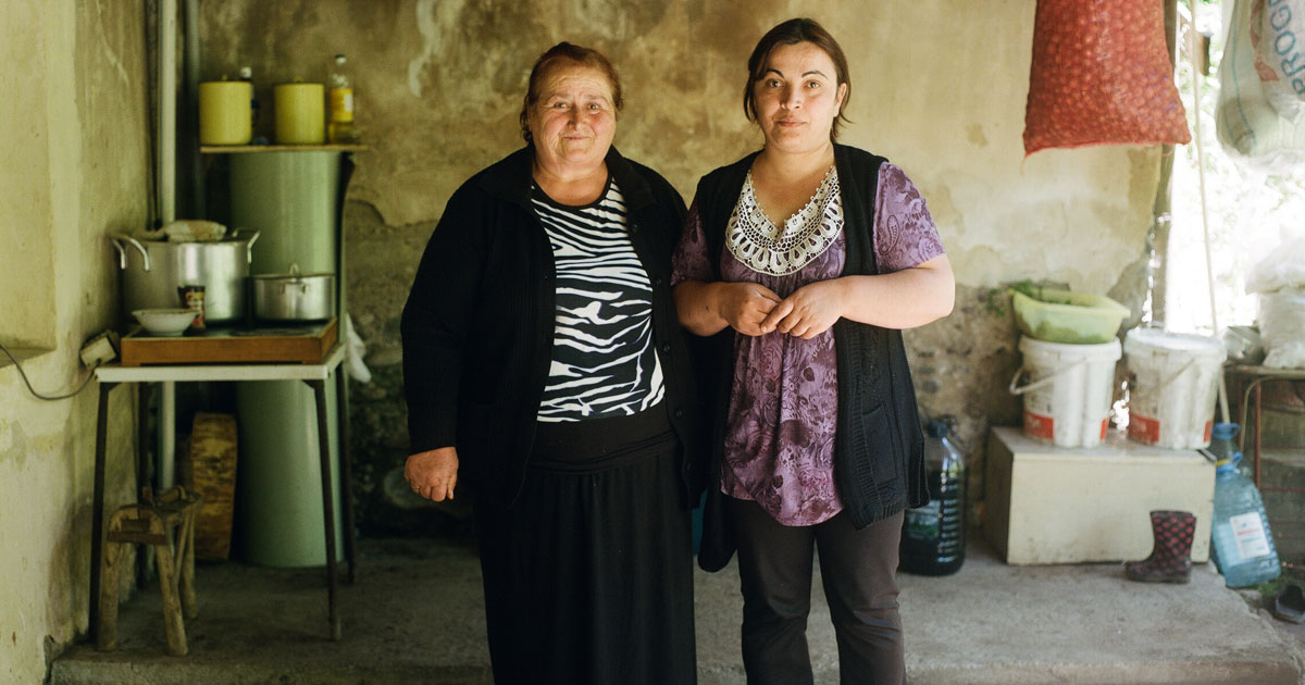 Take a glimpse into the lives of women in Georgia's wild Pankisi Gorge