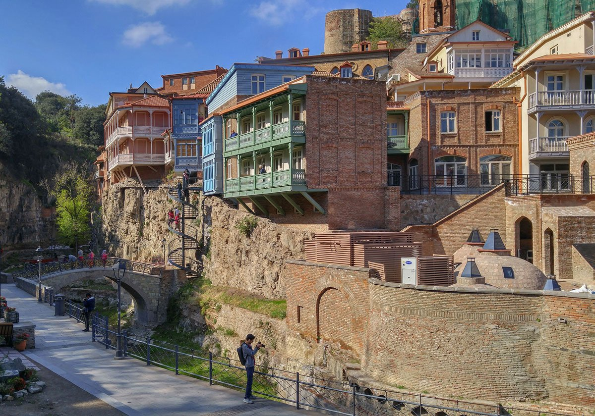 Architectural wander: a walking tour of Tbilisi's eclectic neighbourhoods