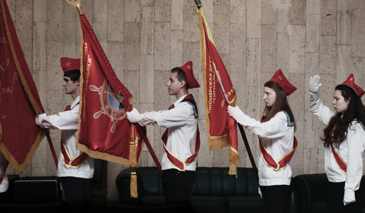 Young Pioneers: the Moscow kids reviving a Soviet youth movement