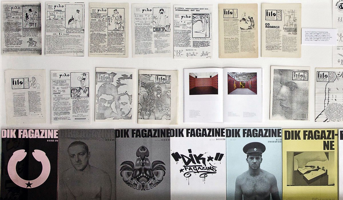 Queer zines: making art from eastern Europe's secret LGBTQ archives