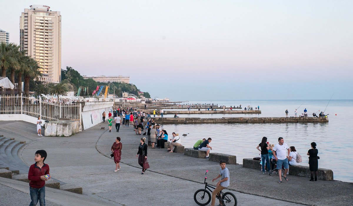 Russian riviera: from Soviet sanatoriums to lush gardens, your walking guide to seaside Sochi