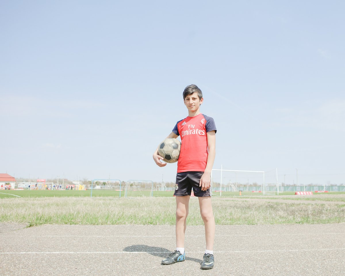 Take the field: meet the aspiring youth competing in the iconic Leather Ball football tournament