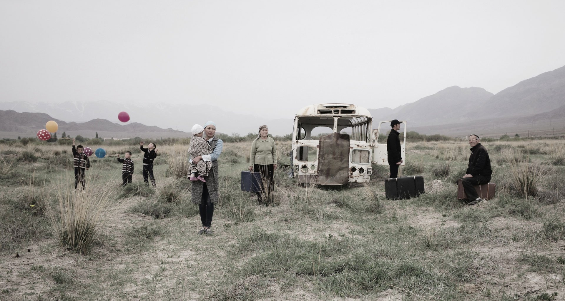 The lost Soviet dream is both charming and haunting in these photos of Kyrgyzstan