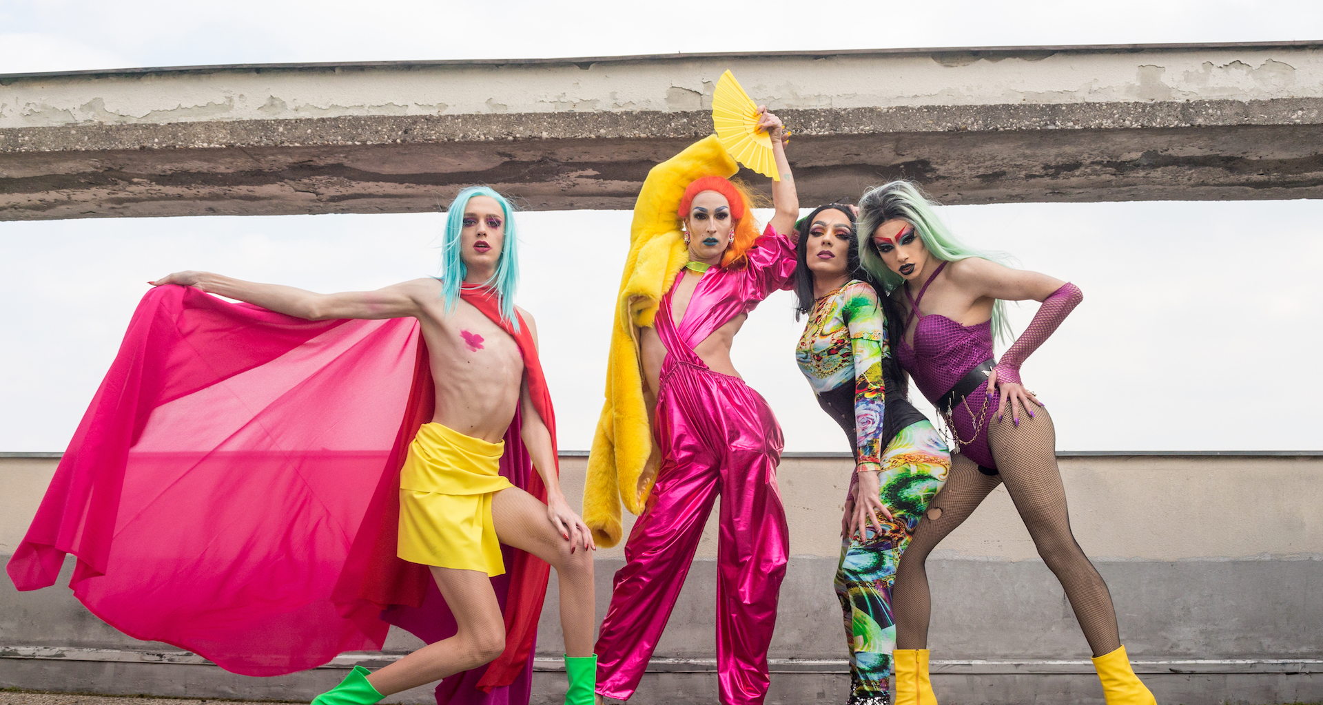 In Croatia and Serbia, a new wave of drag queens is kicking against the pricks