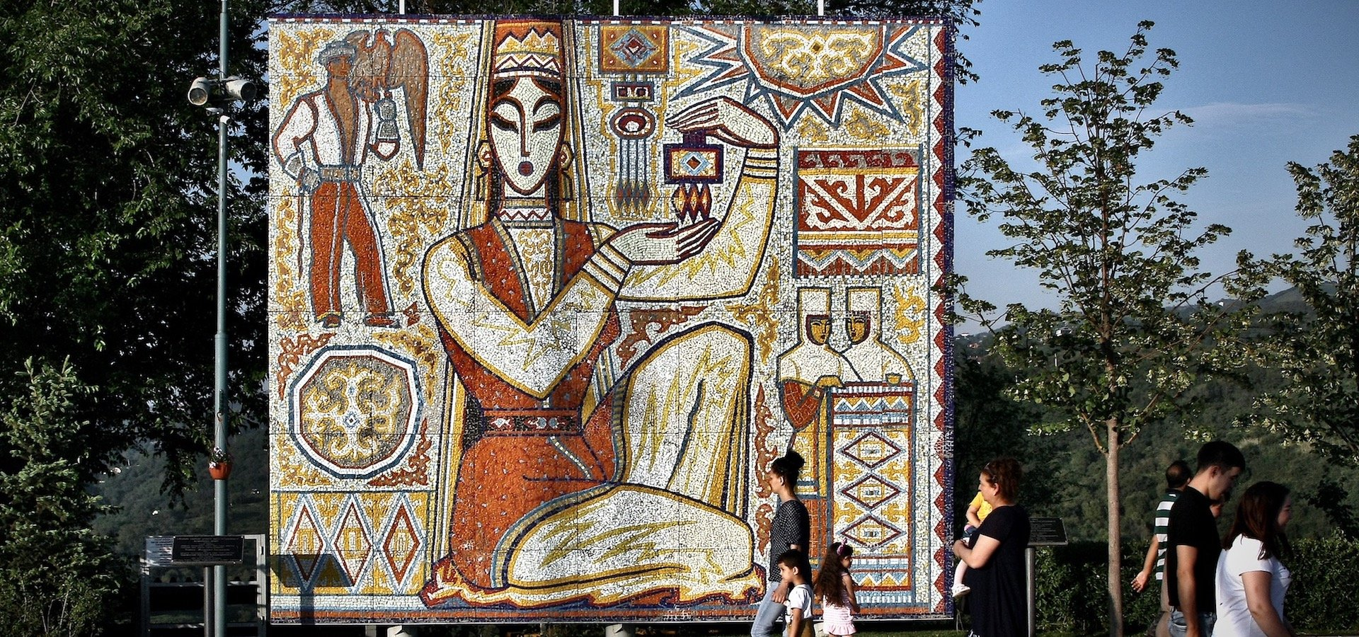 Inside the fight to preserve Almaty's stunning Soviet-era monumental art