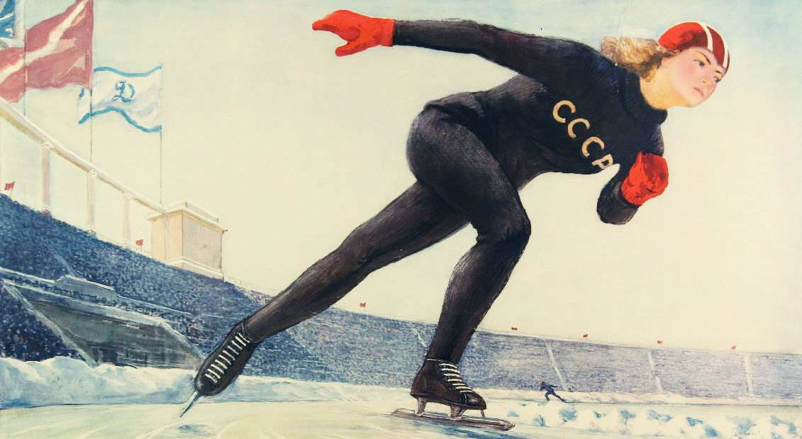 Win, lose or draw: when sport met art in the Soviet Union