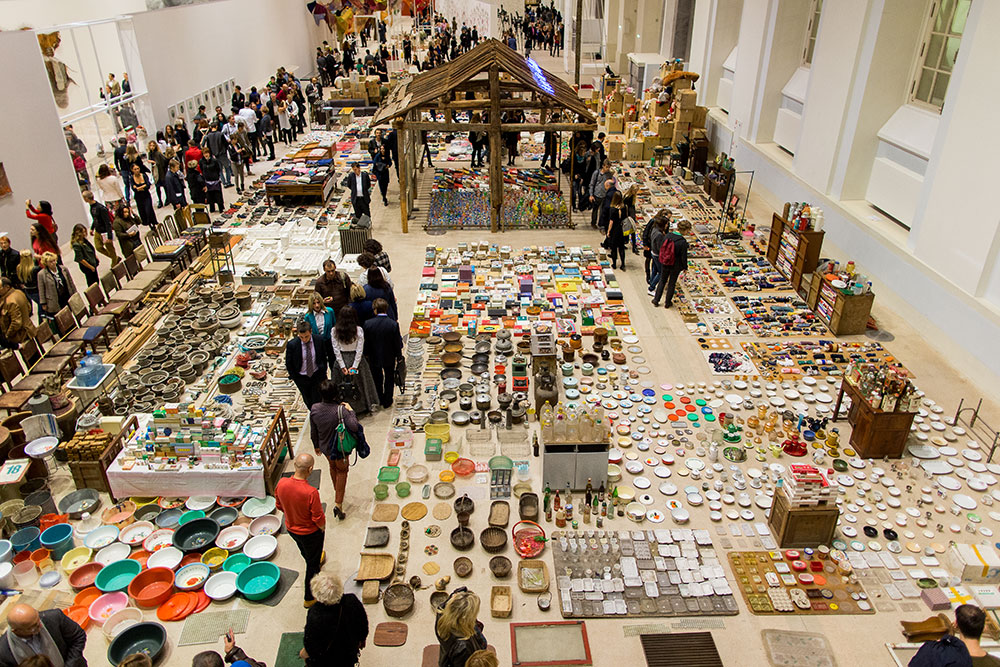 Art and the city: scenes from the Moscow Biennale