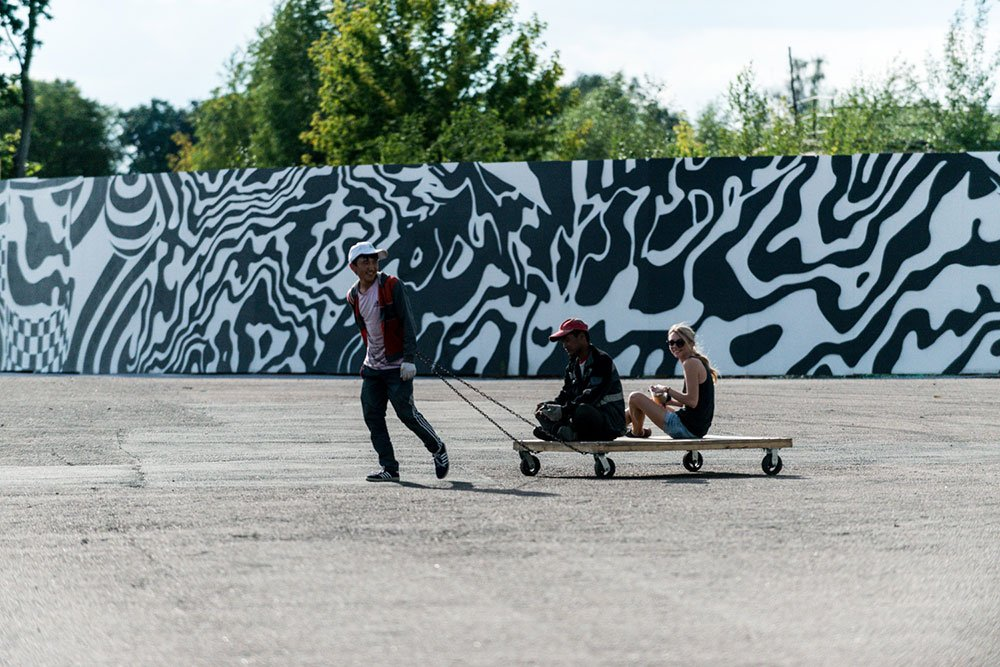 Art beats: impressions of a Moscow festival