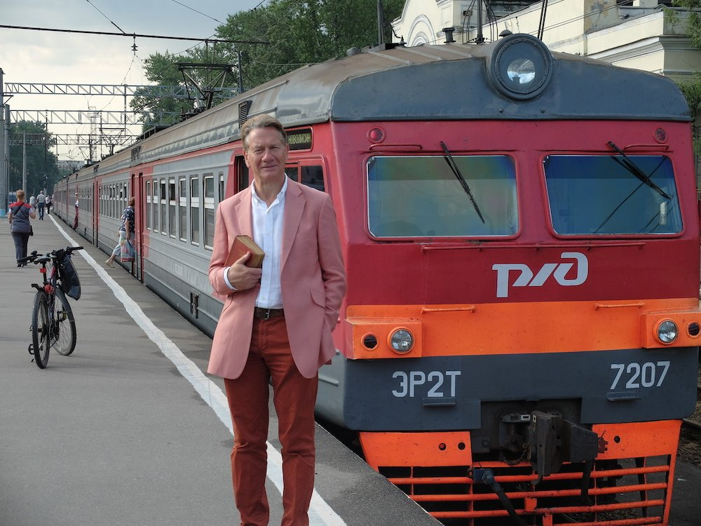 Brief encounter: ten minutes on a train with Michael Portillo