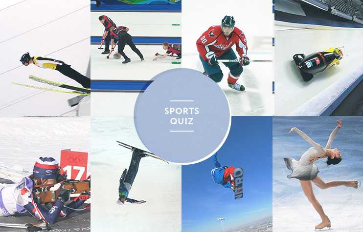 Sochi quiz: which winter Olympic sport are you?