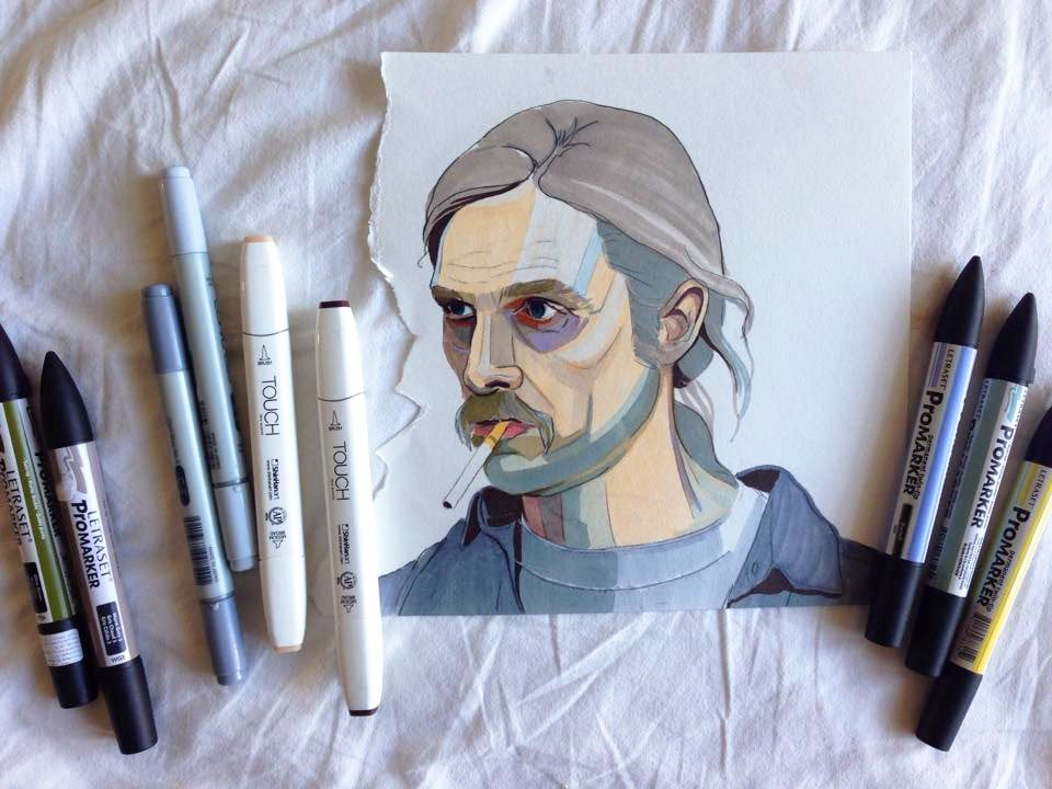 Cohle personality rust The world