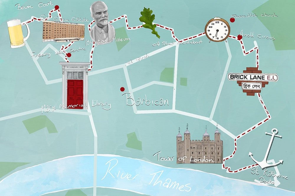 Sole mates: Russia meets London on this walking tour of the East End